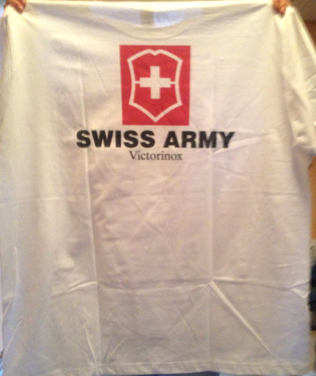 swiss army póló